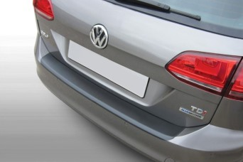 Rear bumper protectors of ABS