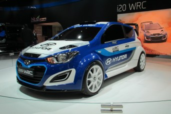 Reference projects - Hyundai i20 WRC rally car